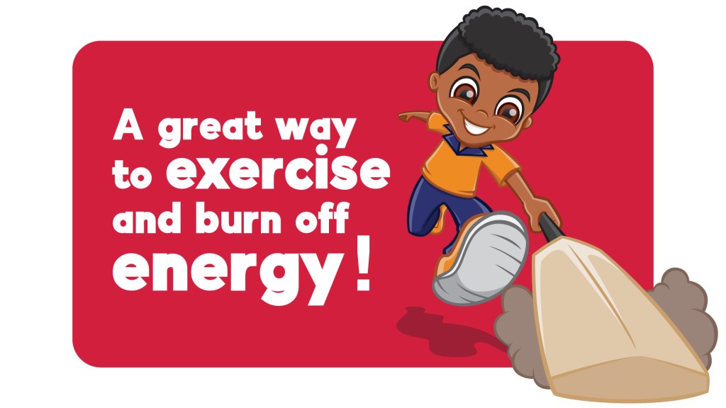 Exercise and burn energy