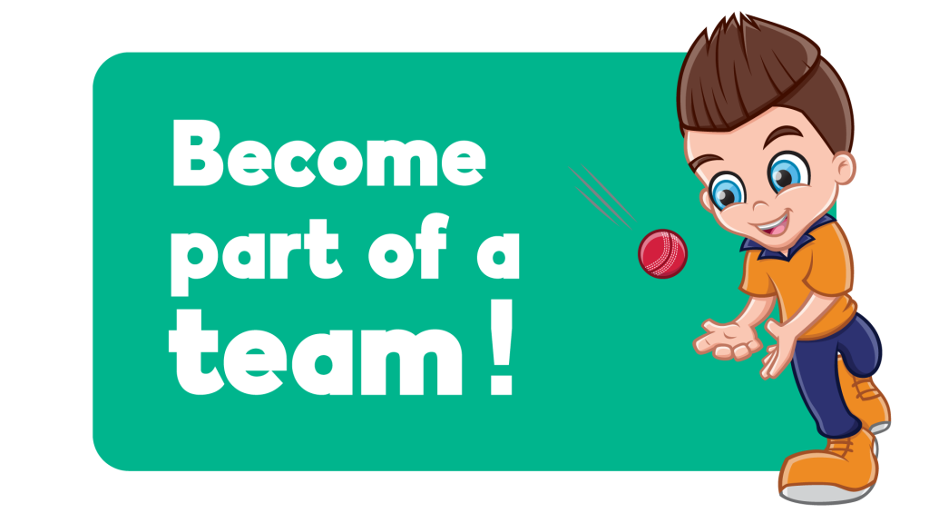 Be part of a team